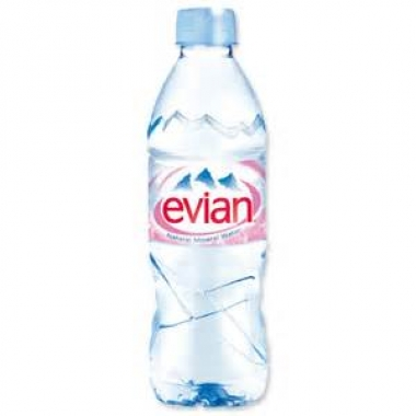 evian 24x500ml case